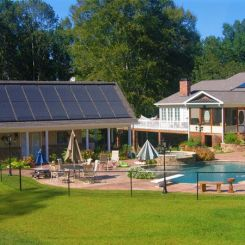 Solar Pool Heating Collectors