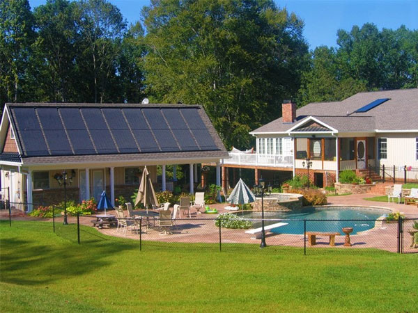 California Solar Hot Water Heating Systems