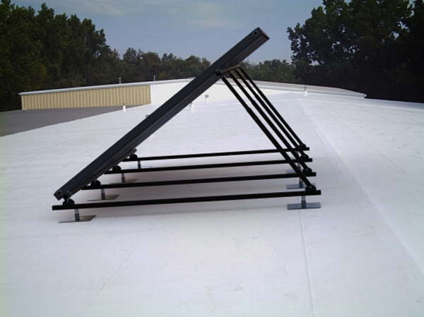 Roof Mounting Solar Energy Systems